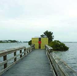 pier closed