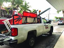 roadwork-flags