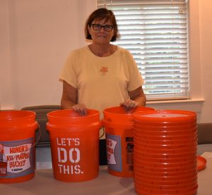 Bucket brigade for Texas: Lighthouse Church donates flood  buckets for hurricane victims