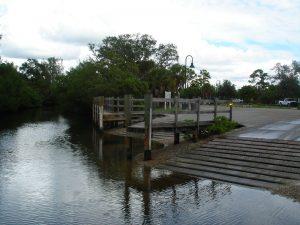 Boat ramp closed …
