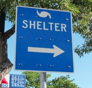Stay in a shelter and learn life's lessons
