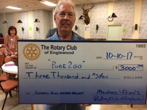 Englewood Rotary teams up with Salvation Army to make clean water