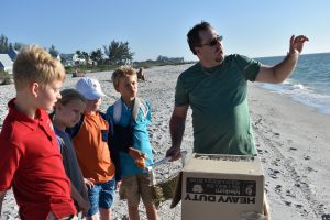 Island School students learn about underwater life with ROV project