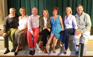 Royal Palm Players cast rehearses for season opener 'Duets'