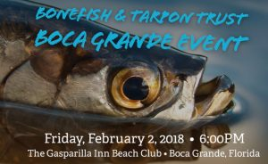 Bonefish & Tarpon Trust event tickets on sale now for February 2 event at Gasparilla Inn Beach Club