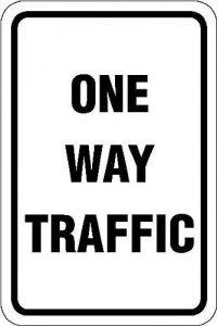 Traffic notice
