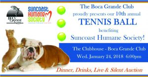 Be part of the excitement at the 10th annual Tennis Ball