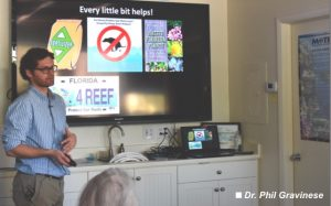 'Coffee with a scientist': stone crab stresses
