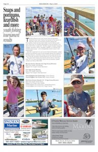 Youth fishing tournament results
