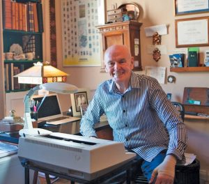 The loss of a great author and island friend: RIP Richard Peck