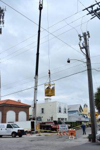 Island tower gets updated antennas, FPL power pole upgrades in progress