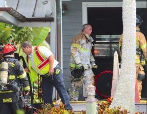 Fire causes damage to Damfino home