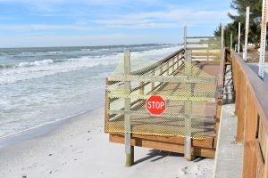Beach ramp at 5th Street to be complete sometime in early spring