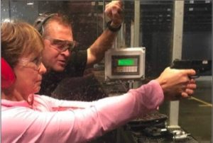 Local ladies head to the gun range to learn, and to have a little fun
