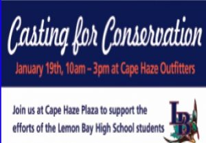 Lemon Bay High School 'Casting for Conservation' event this Saturday
