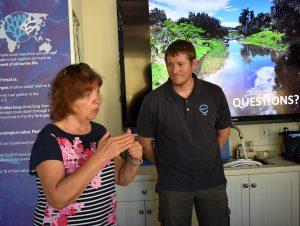 Boca Grande snook update at 'Coffee with a Scientist'