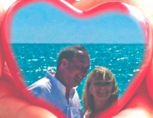 A couple from Cheshire, a Boca Grande love story