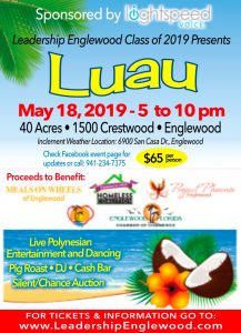 Leadership Englewood Luau to benefit many local charities