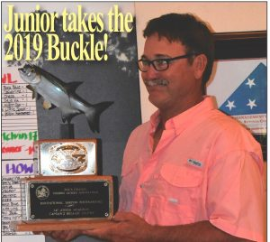 Junior takes the 2019 Buckle!