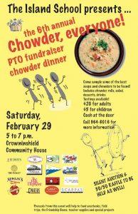 Chowder for  everyone! Courtesy of The Island School