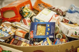 If you're leaving town, donate those non-perishables
