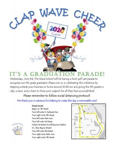Come out and cheer for Island School graduates!