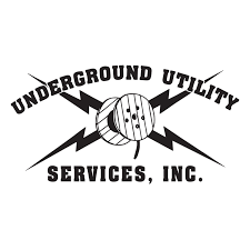 Underground utility services continue to install protective pipes