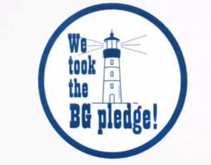 You bet your life I took the pledge … a note from a long-time, well-loved island resident