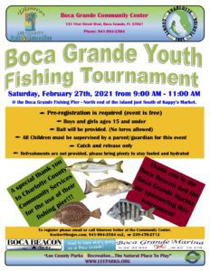 Ready to catch the big one? Mark your calendar for the youth fishing tournament on February 27
